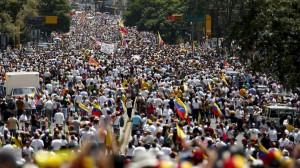 Manifestation au Venezuela. (Reuters)