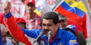 Le président Maduro, contesté par une grande partie de la population.