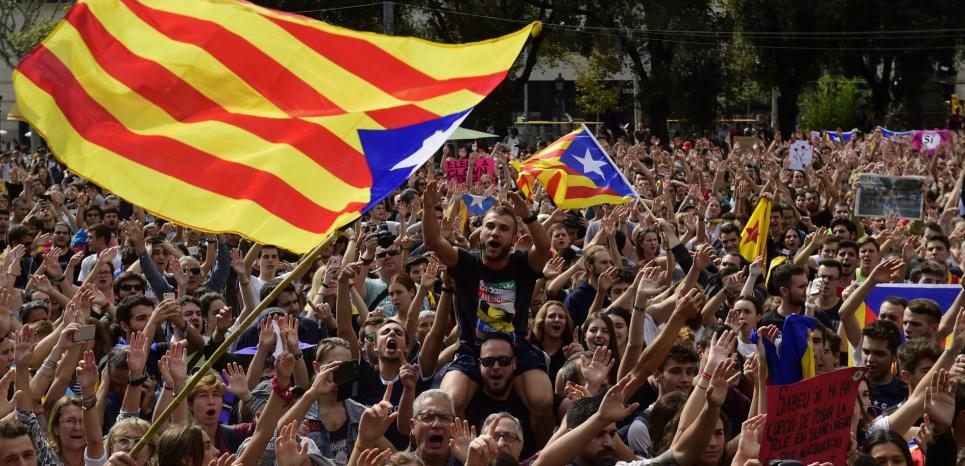 L'Estrelada, drapeau catalan symbolique des volontés d'indépendance