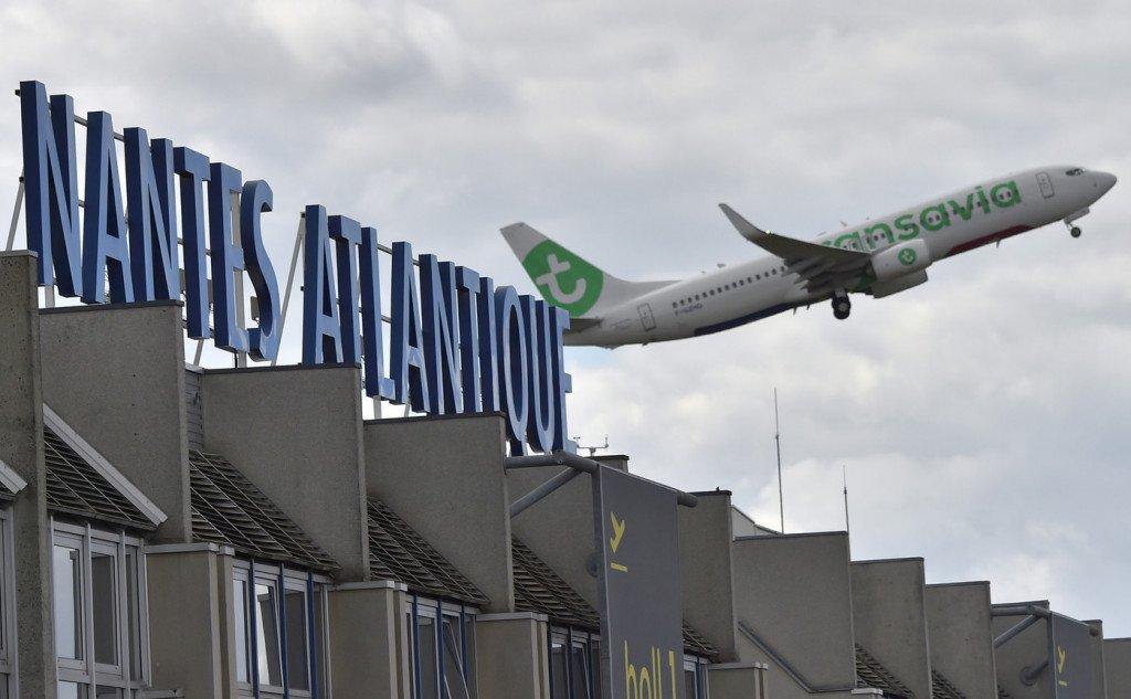 L'aéroport Nantes-Atlantique va être réaménagé. (Loïc Venance AFP)